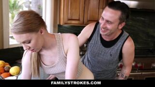 FamilyStrokes – Cute Sis (Abi Grace) Fucks Her Way Out Of Trouble